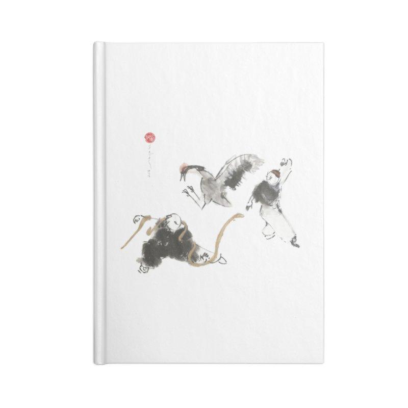 Tai Chi Crane and Snake Accessories Notebook by arttaichi's Artist Shop