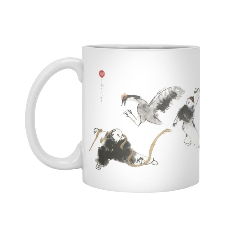 Tai Chi Crane and Snake Accessories Mug by arttaichi's Artist Shop