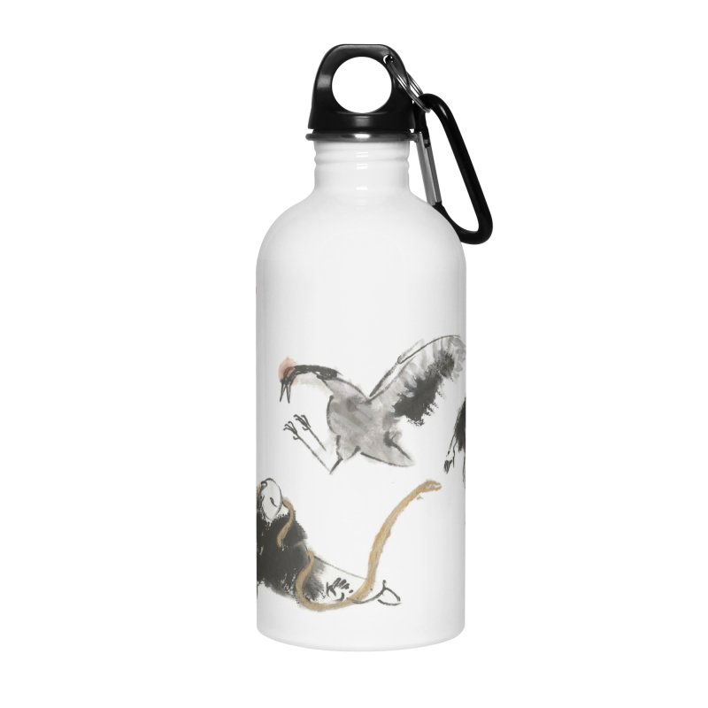 Tai Chi Crane and Snake Accessories Water Bottle by arttaichi's Artist Shop