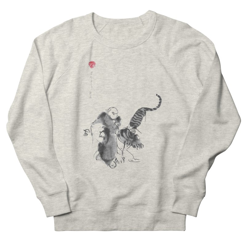 Step Back To Ride Tiger Women's French Terry Sweatshirt by arttaichi's Artist Shop