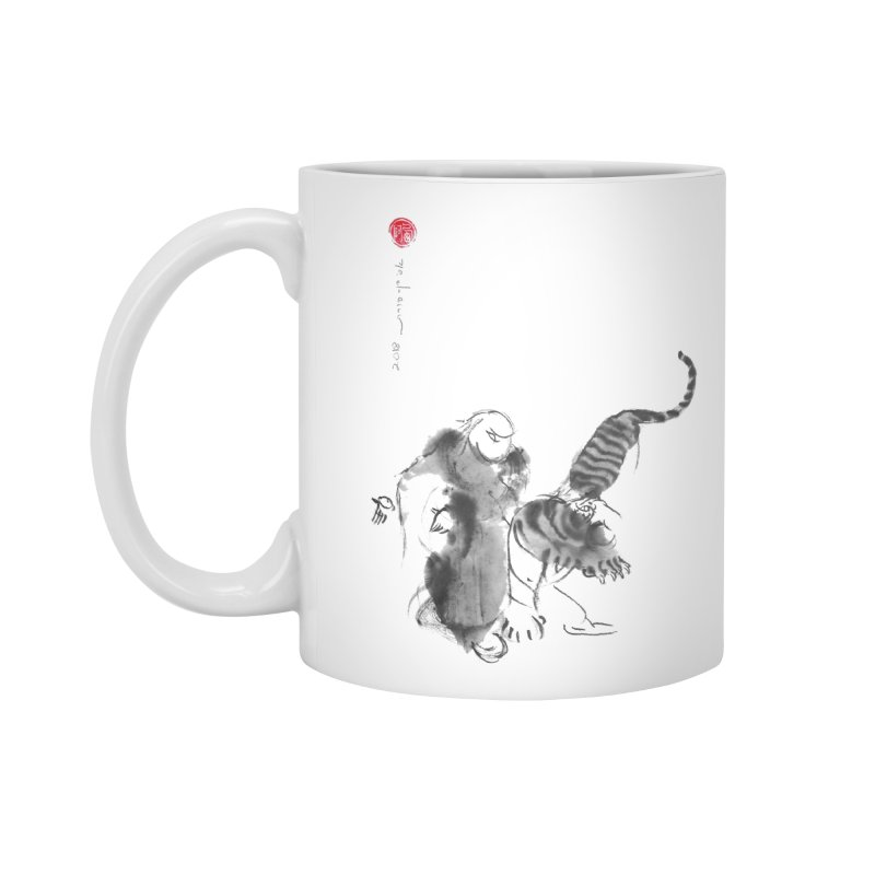 Step Back To Ride Tiger Accessories Standard Mug by arttaichi's Artist Shop