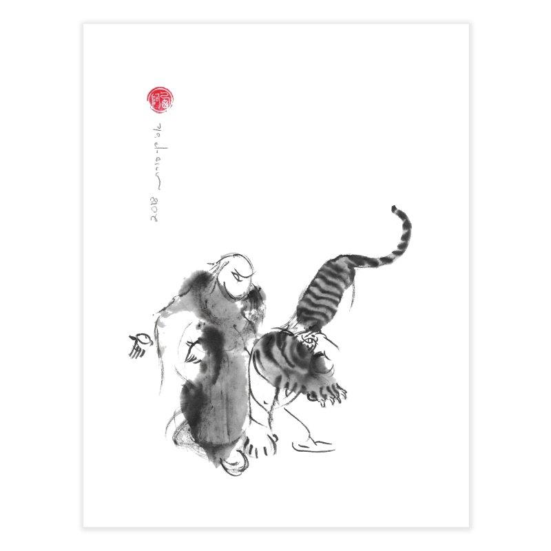 Step Back To Ride Tiger Home Fine Art Print by arttaichi's Artist Shop