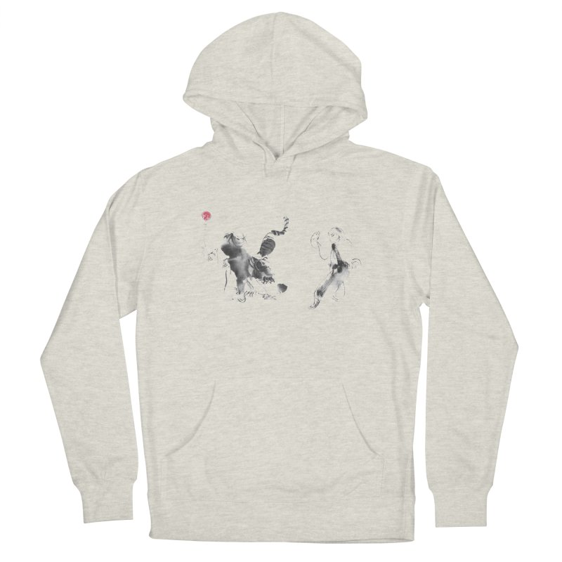 Step Back To Ride Tiger Men's French Terry Pullover Hoody by arttaichi's Artist Shop