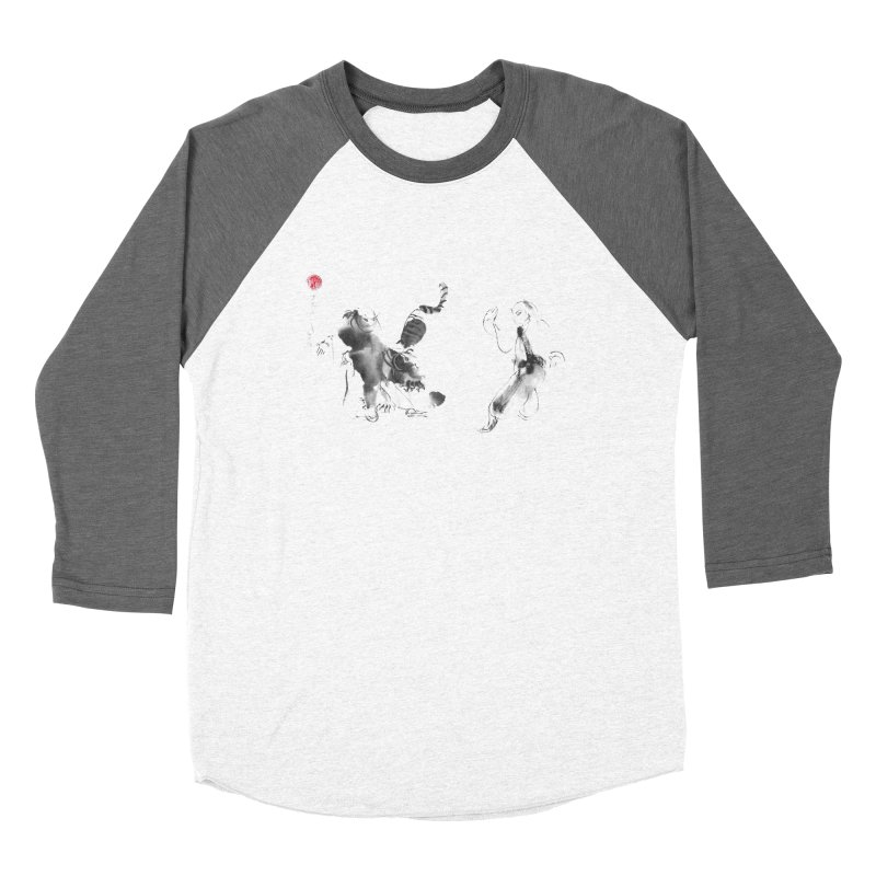Step Back To Ride Tiger Women's Longsleeve T-Shirt by arttaichi's Artist Shop