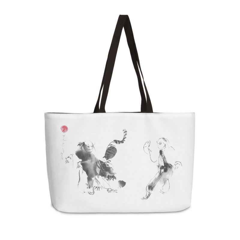 Step Back To Ride Tiger Accessories Weekender Bag Bag by arttaichi's Artist Shop