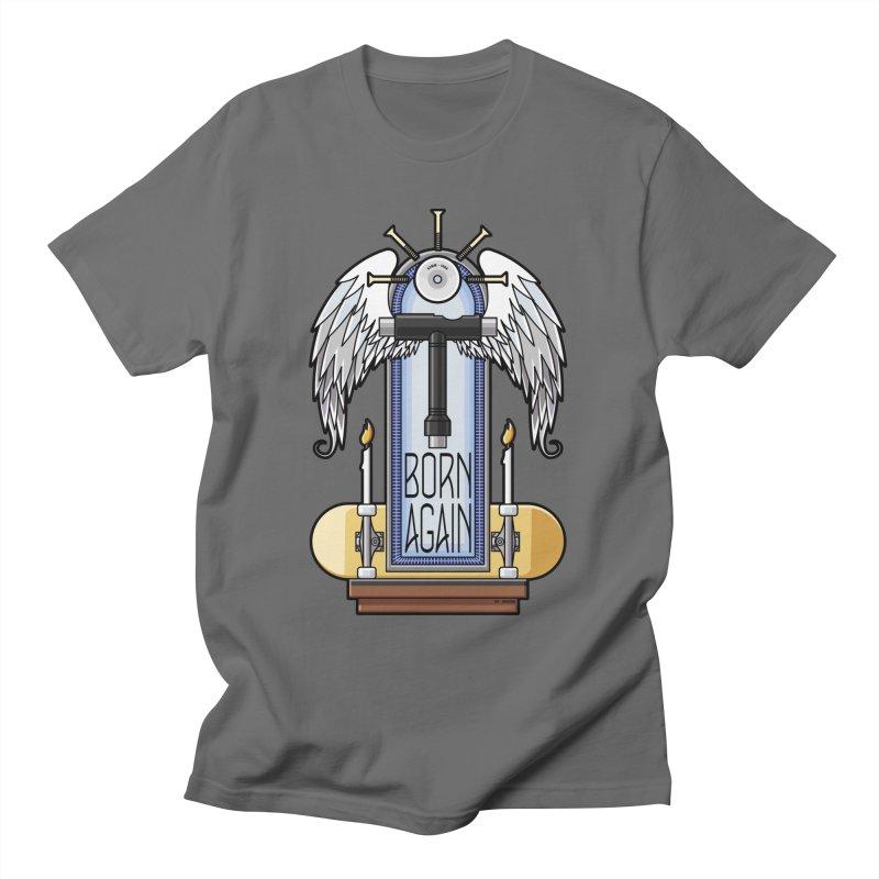 Born Again Skateboard Tool Angel Shrine Women's T-Shirt by Art Time Productions by TET
