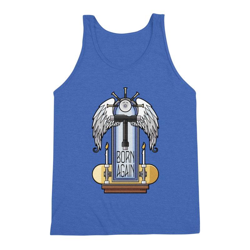 Born Again Skateboard Tool Angel Shrine Men's Tank by Art Time Productions by TET