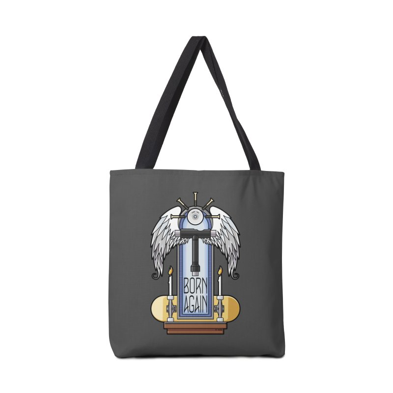 Born Again Skateboard Tool Angel Shrine Accessories Bag by Art Time Productions by TET