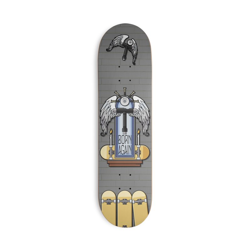 Born Again Skateboard Tool Angel Shrine Accessories Skateboard by Art Time Productions by TET