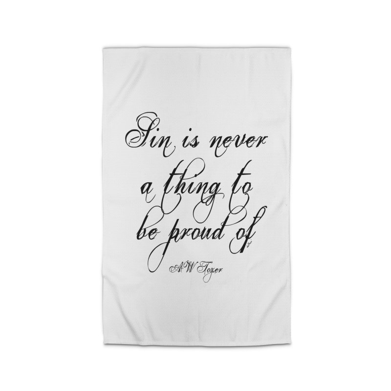 Sin is never a thing to be proud of Home Rug by artworkdealers Artist Shop