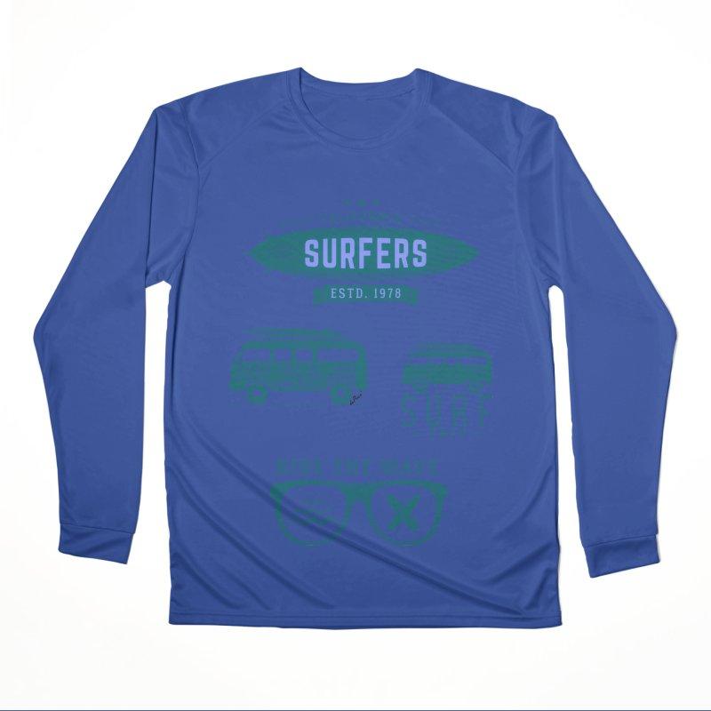 Certified Surfing Nut Women's Performance Unisex Longsleeve T-Shirt by artworkdealers Artist Shop