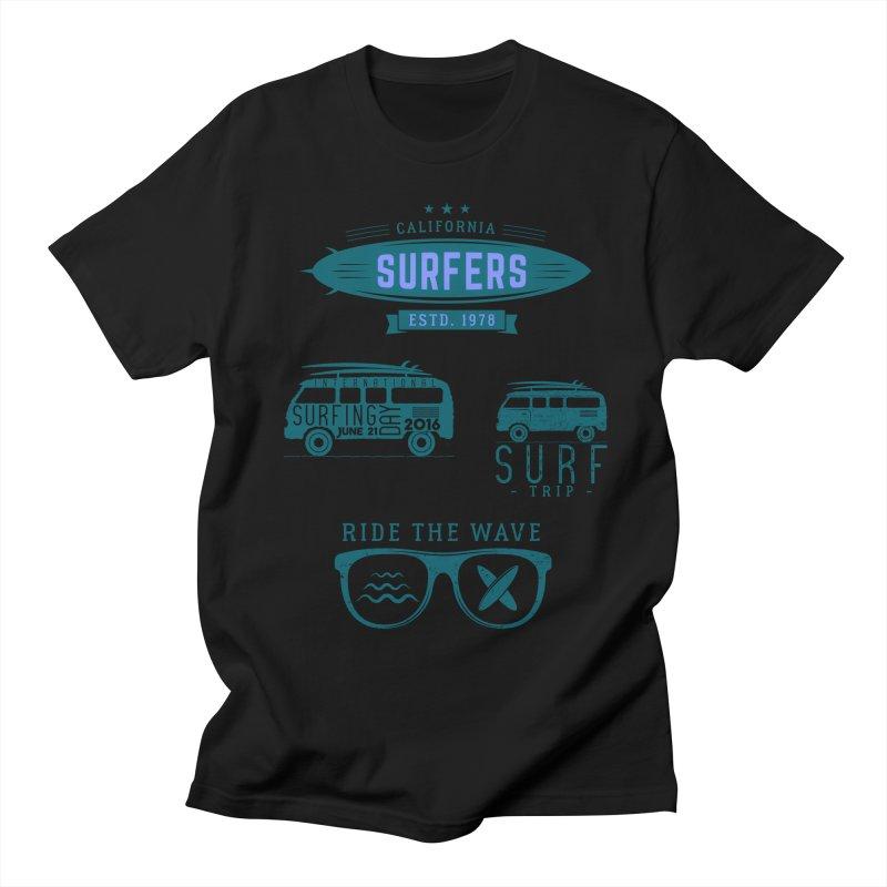 Certified Surfing Nut Women's Regular Unisex T-Shirt by artworkdealers Artist Shop