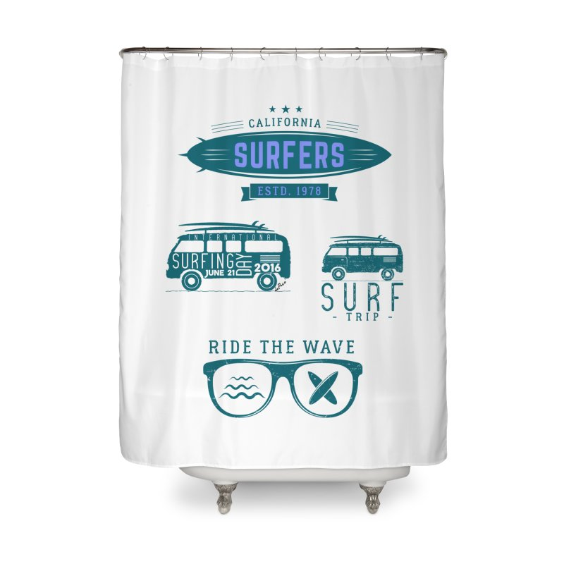Certified Surfing Nut Home Shower Curtain by artworkdealers Artist Shop