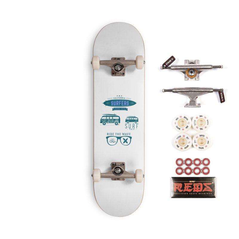 Certified Surfing Nut Accessories Complete - Pro Skateboard by artworkdealers Artist Shop