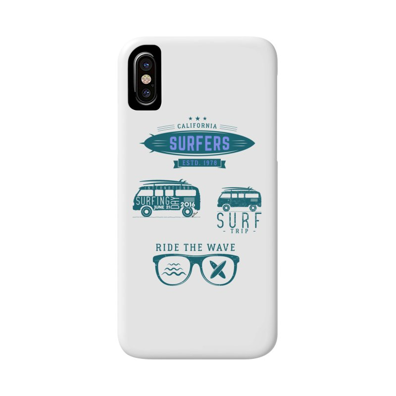 Certified Surfing Nut Accessories Phone Case by artworkdealers Artist Shop