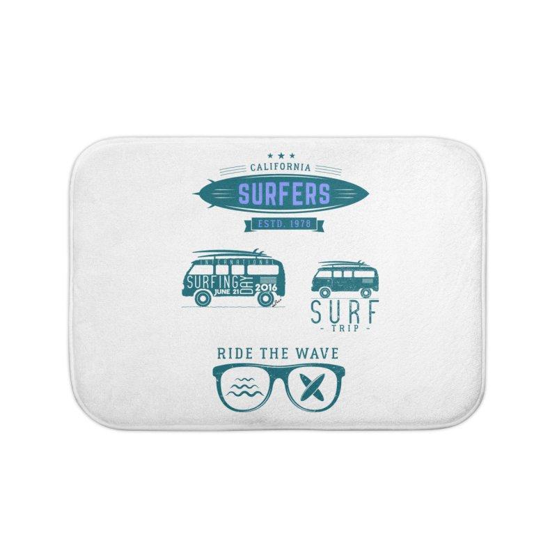 Certified Surfing Nut Home Bath Mat by artworkdealers Artist Shop