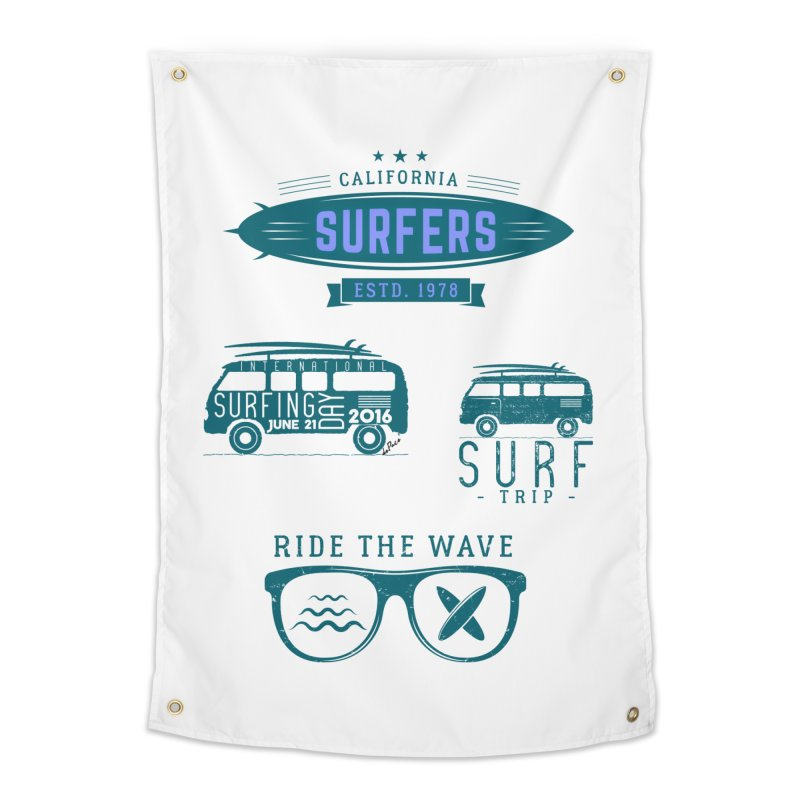 Certified Surfing Nut Home Tapestry by artworkdealers Artist Shop