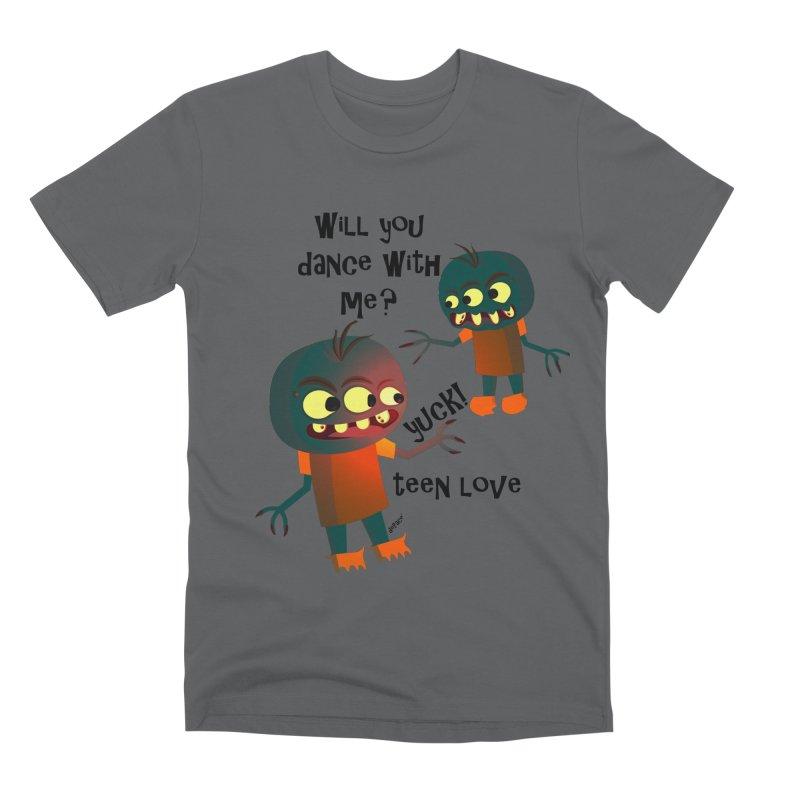True Teen Love Men's Premium T-Shirt by artworkdealers Artist Shop