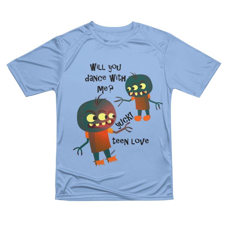 True Teen Love Men's Performance T-Shirt by artworkdealers Artist Shop