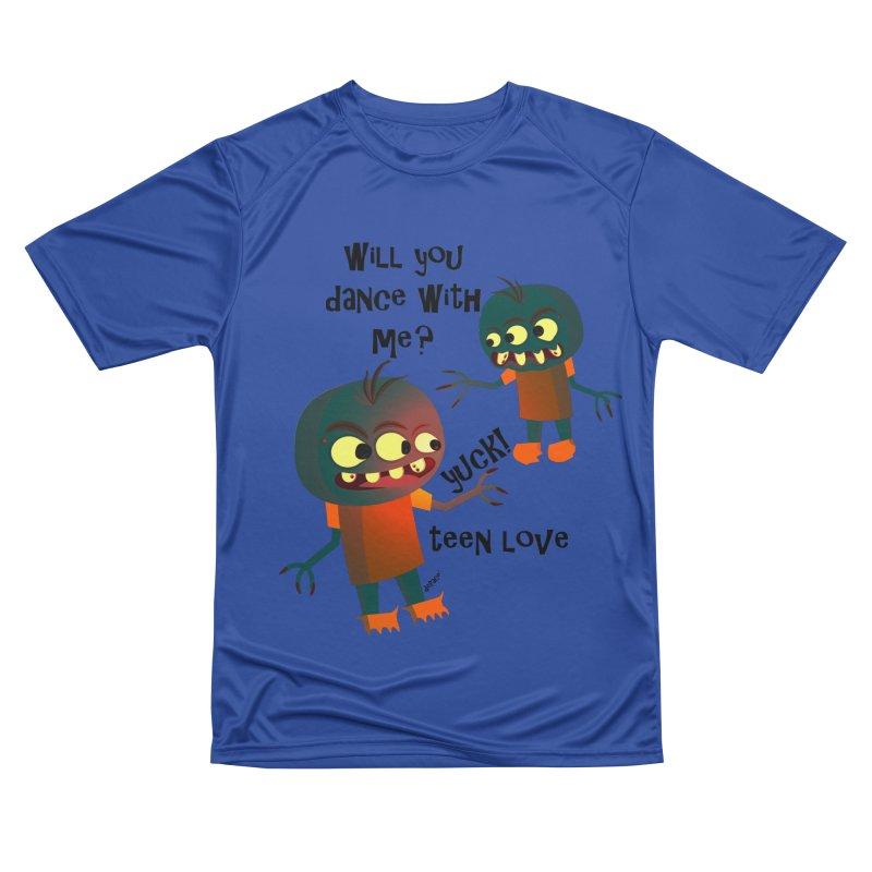 True Teen Love Women's Performance Unisex T-Shirt by artworkdealers Artist Shop