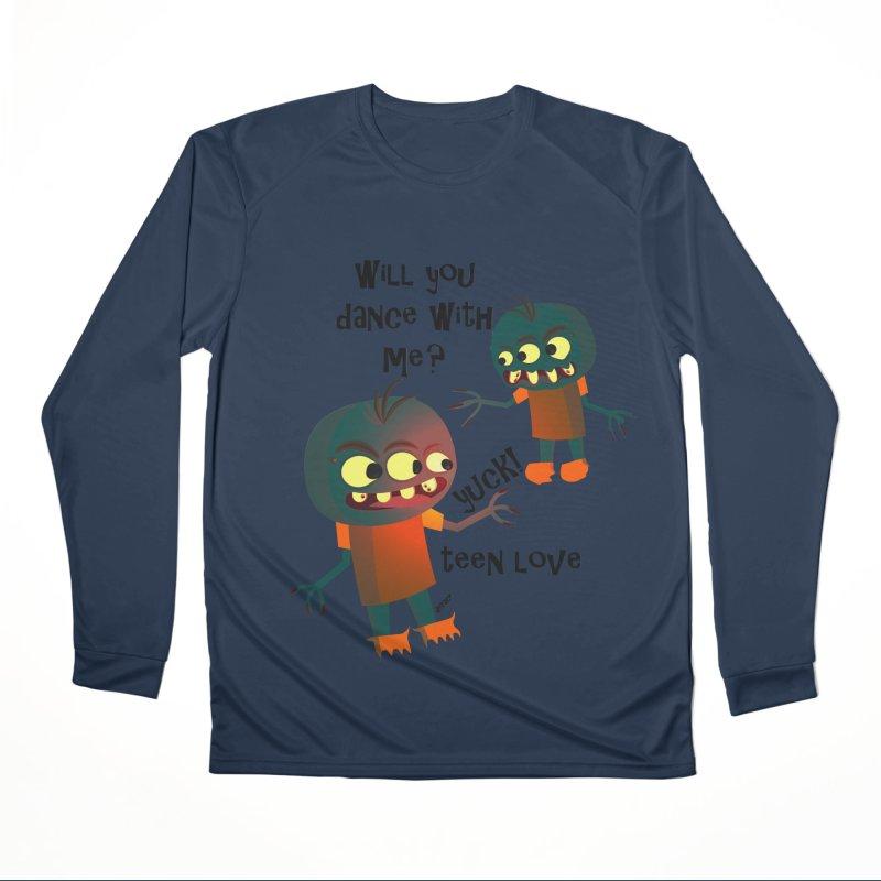 True Teen Love Men's Performance Longsleeve T-Shirt by artworkdealers Artist Shop