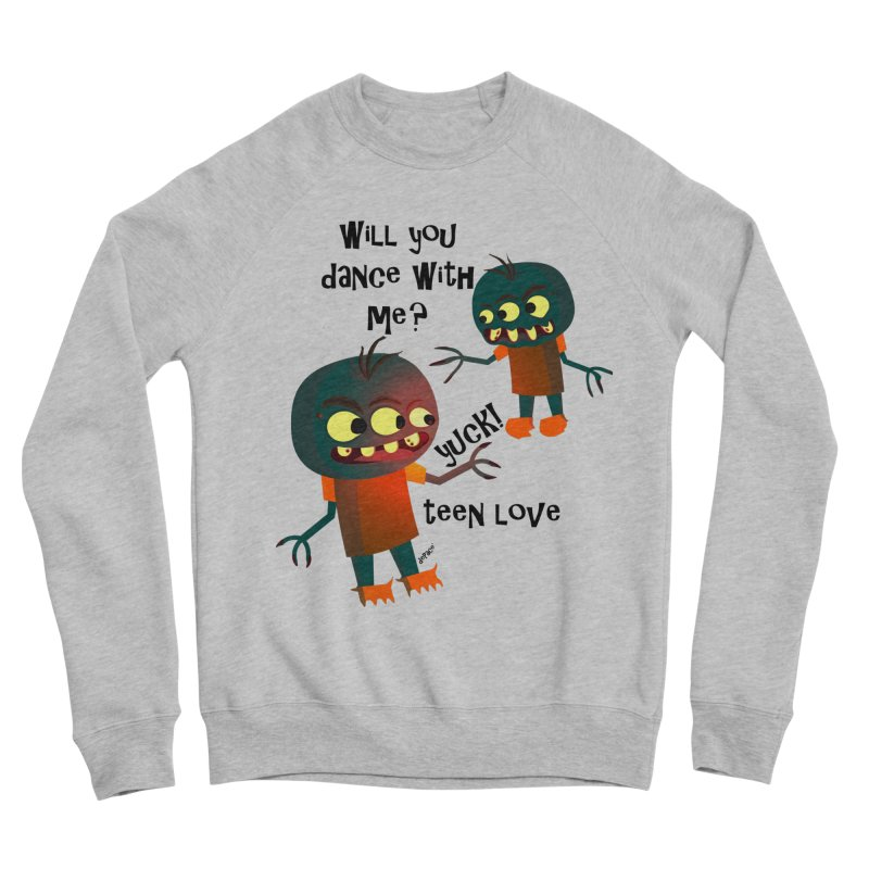 True Teen Love Women's Sponge Fleece Sweatshirt by artworkdealers Artist Shop