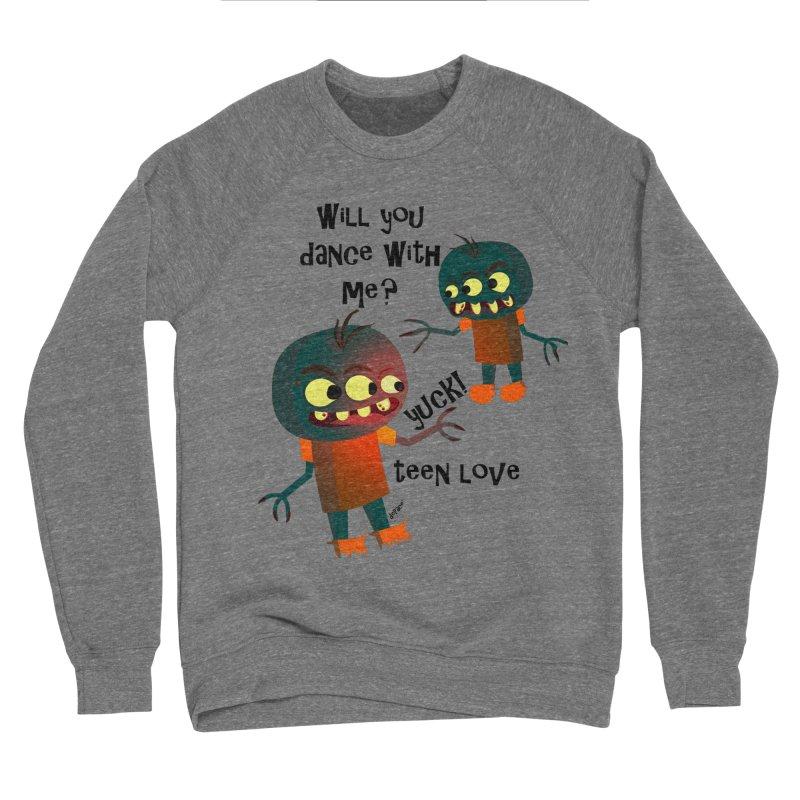 True Teen Love Men's Sponge Fleece Sweatshirt by artworkdealers Artist Shop