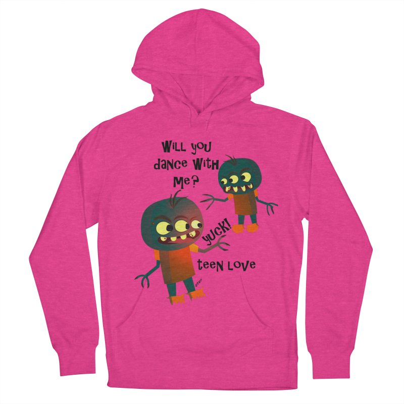 True Teen Love Men's French Terry Pullover Hoody by artworkdealers Artist Shop