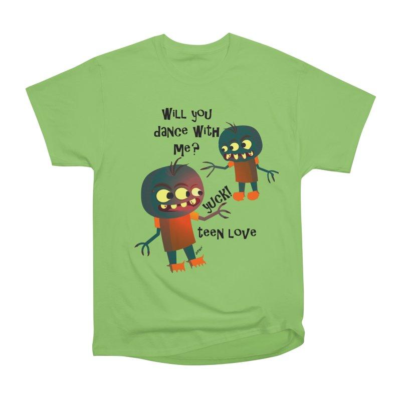 True Teen Love Women's Heavyweight Unisex T-Shirt by artworkdealers Artist Shop