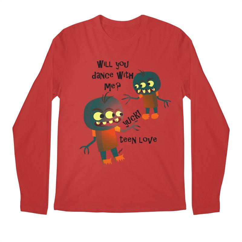 True Teen Love Men's Regular Longsleeve T-Shirt by artworkdealers Artist Shop
