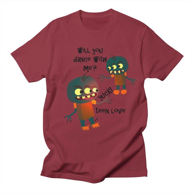 True Teen Love Women's Regular Unisex T-Shirt by artworkdealers Artist Shop