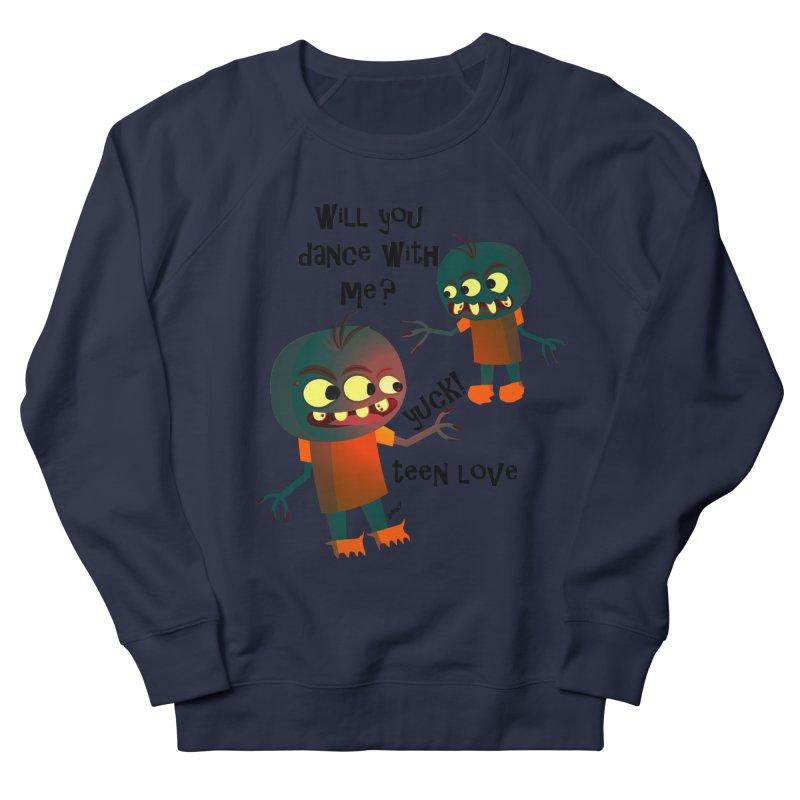 True Teen Love Men's French Terry Sweatshirt by artworkdealers Artist Shop
