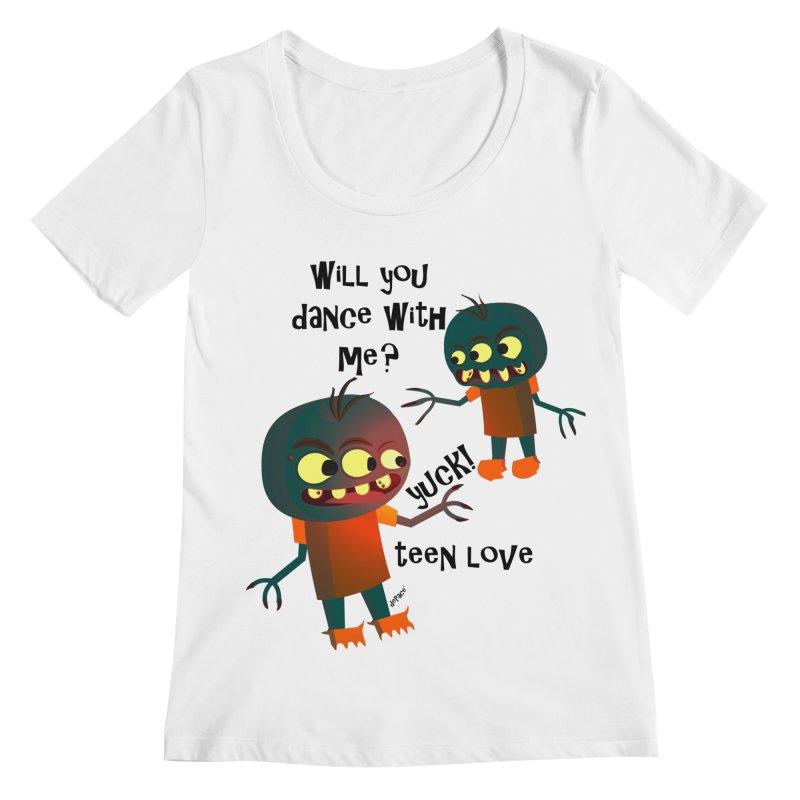True Teen Love Women's Regular Scoop Neck by artworkdealers Artist Shop