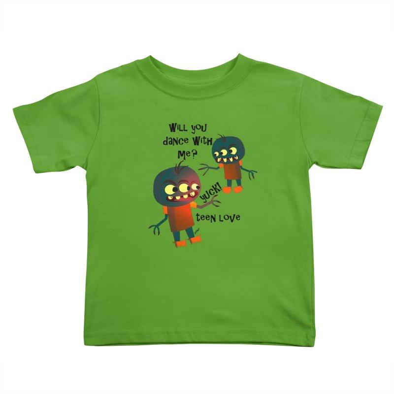 True Teen Love Kids Toddler T-Shirt by artworkdealers Artist Shop