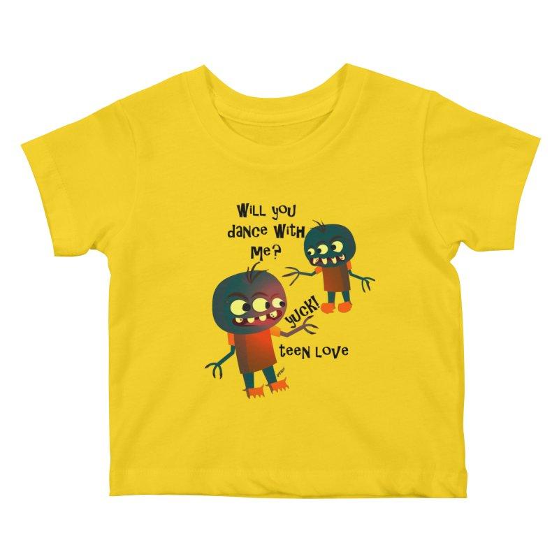 True Teen Love Kids Baby T-Shirt by artworkdealers Artist Shop