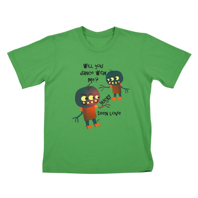 True Teen Love Kids T-Shirt by artworkdealers Artist Shop