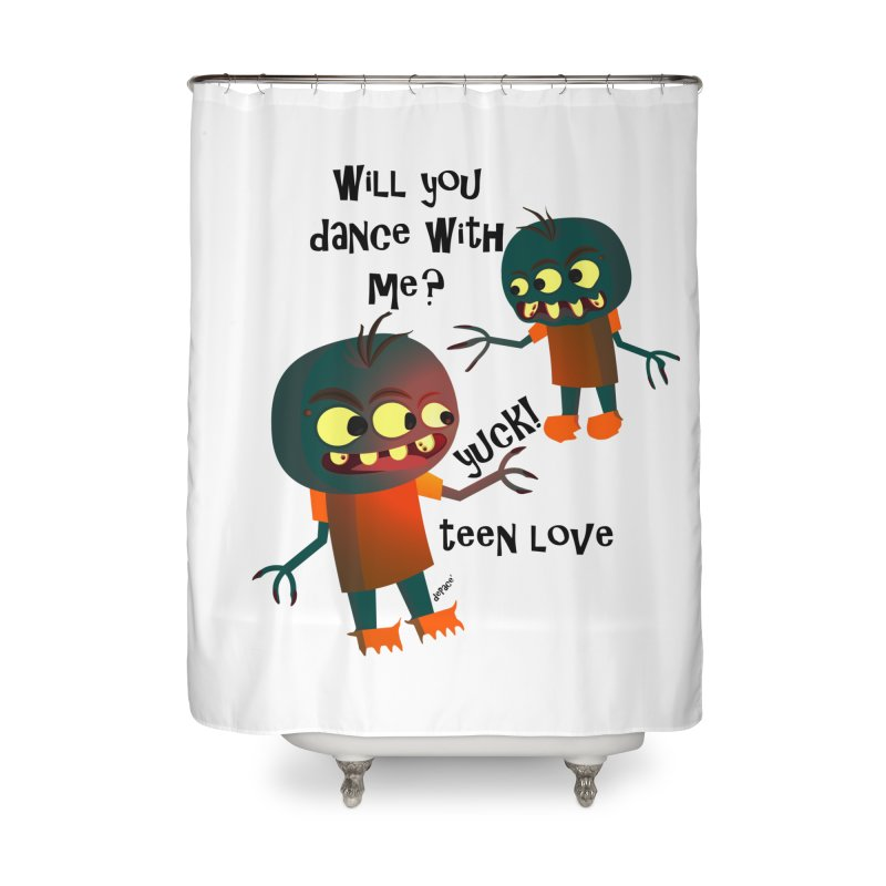 True Teen Love Home Shower Curtain by artworkdealers Artist Shop