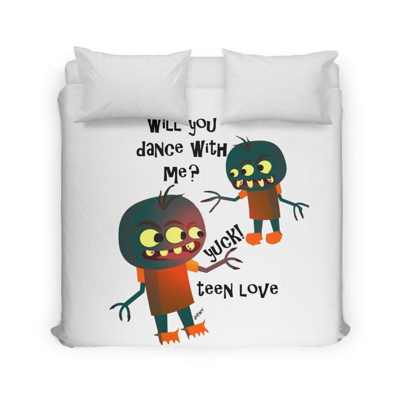 True Teen Love Home Duvet by artworkdealers Artist Shop