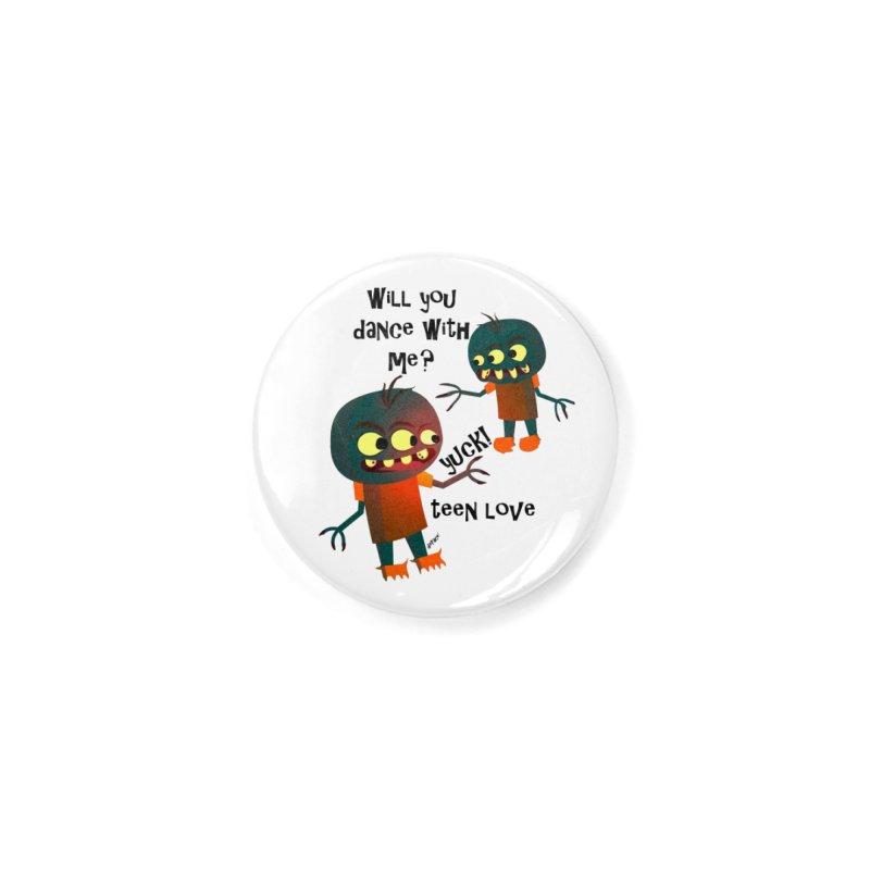 True Teen Love Accessories Button by artworkdealers Artist Shop