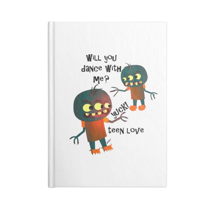 True Teen Love Accessories Lined Journal Notebook by artworkdealers Artist Shop