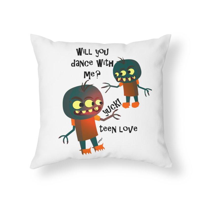 True Teen Love Home Throw Pillow by artworkdealers Artist Shop