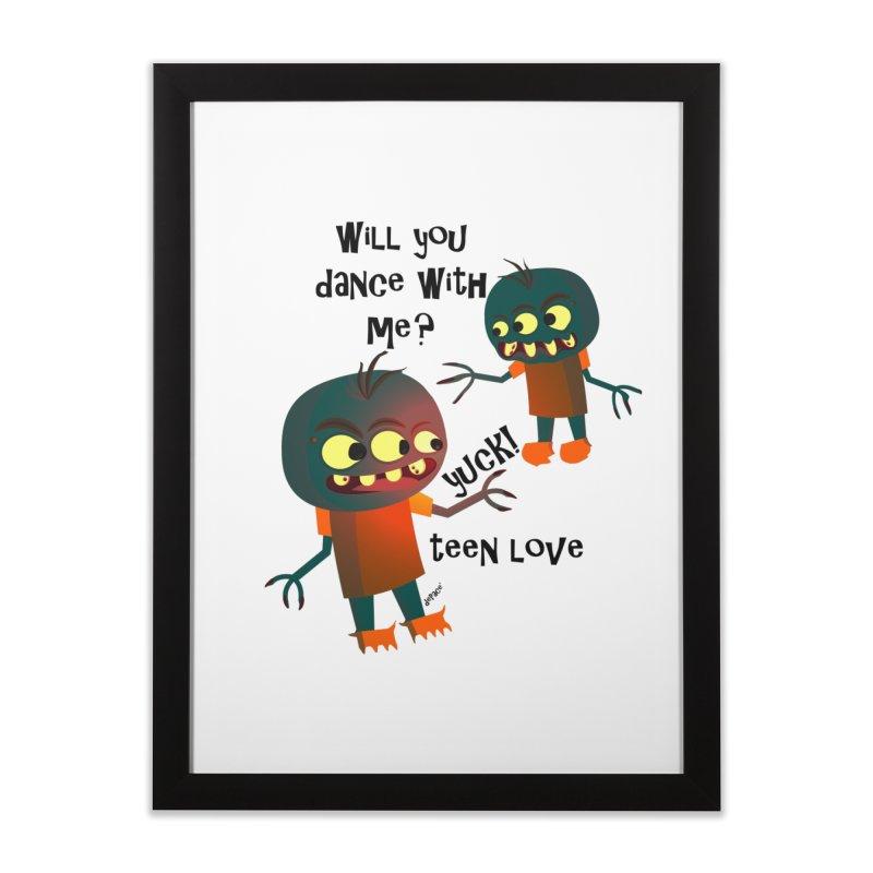 True Teen Love Home Framed Fine Art Print by artworkdealers Artist Shop