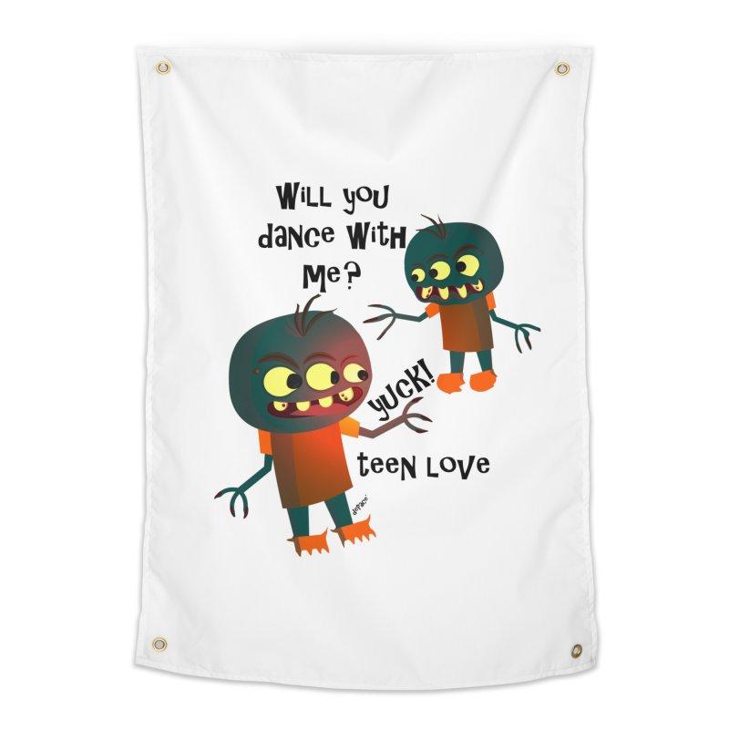 True Teen Love Home Tapestry by artworkdealers Artist Shop