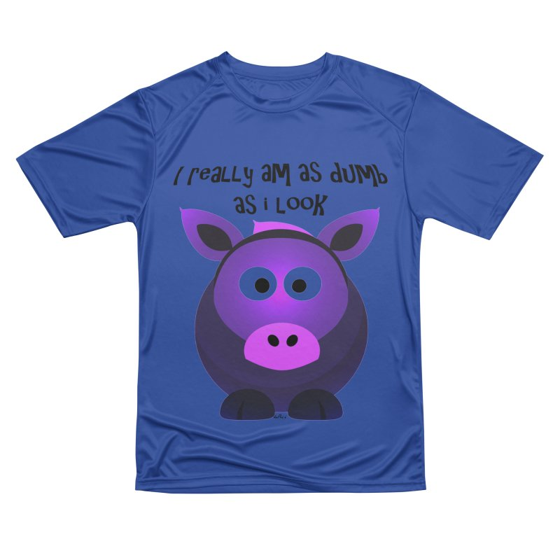 Dumb as I Look Men's Performance T-Shirt by artworkdealers Artist Shop