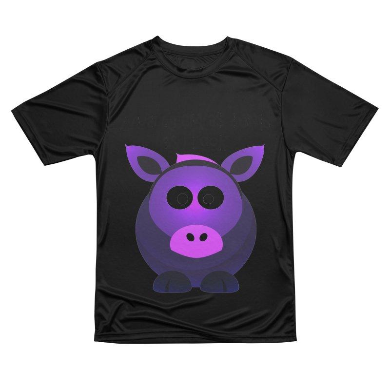 Dumb as I Look Women's Performance Unisex T-Shirt by artworkdealers Artist Shop