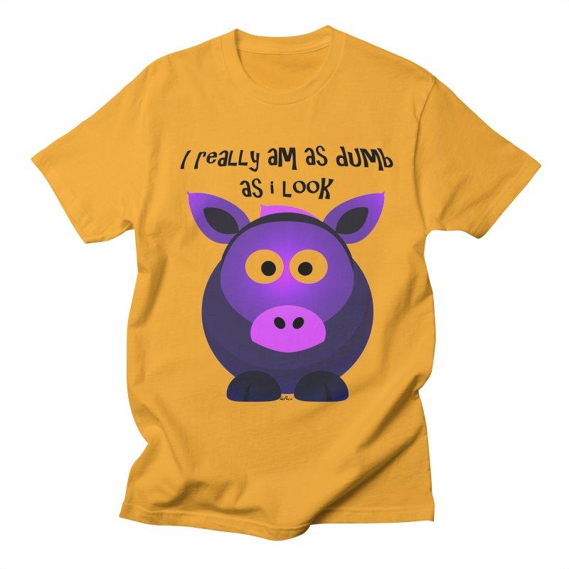 Dumb as I Look Men's Regular T-Shirt by artworkdealers Artist Shop