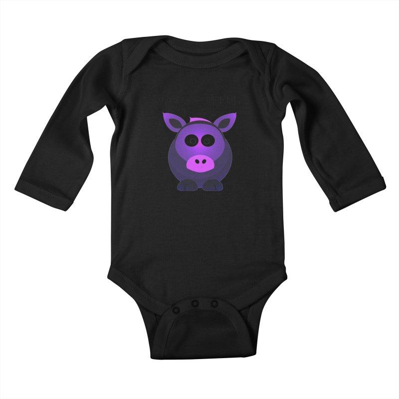 Dumb as I Look Kids Baby Longsleeve Bodysuit by artworkdealers Artist Shop