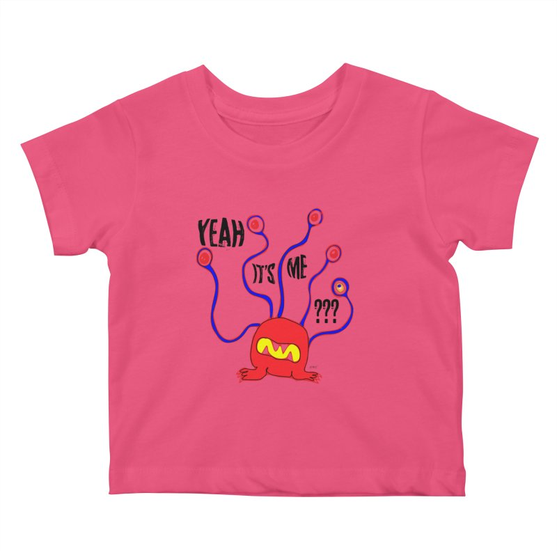 Yeah It's me Kids Baby T-Shirt by artworkdealers Artist Shop