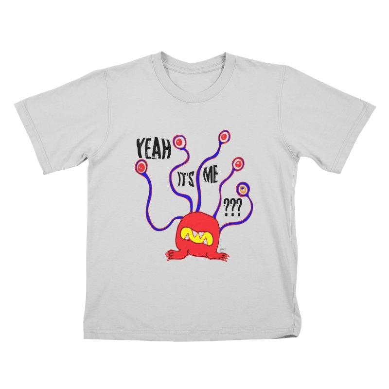 Yeah It's me Kids T-Shirt by artworkdealers Artist Shop