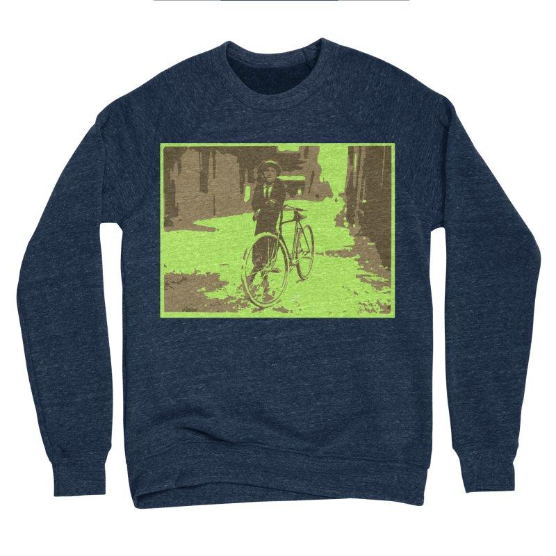 Messenger boy of 1910 Women's Sponge Fleece Sweatshirt by artworkdealers Artist Shop